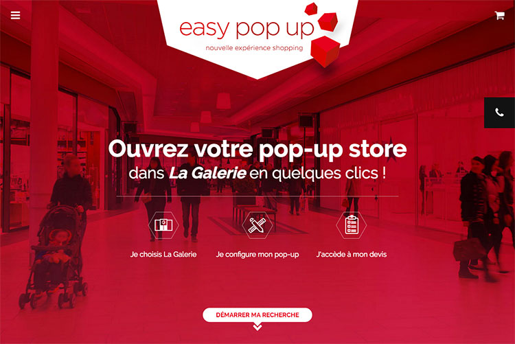 Easy Pop Up - Mercialys